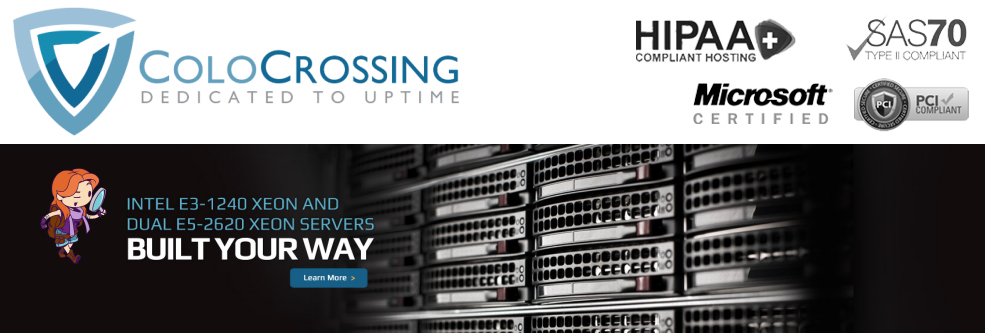 Phedran Severs, VPS, Colocrossing, 100% Uptime